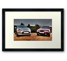 Fiesta Friends Framed Print