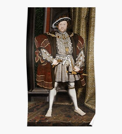 Henry VIII of England Poster