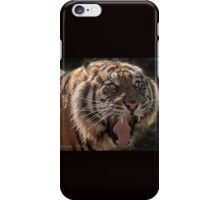 ... never make a long noose to a Tiger.... iPhone Case/Skin
