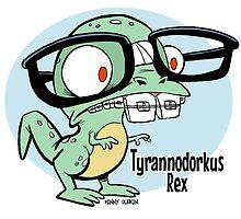 Tyrannodorkus Rex by Kenny Durkin