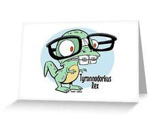 Tyrannodorkus Rex Greeting Card