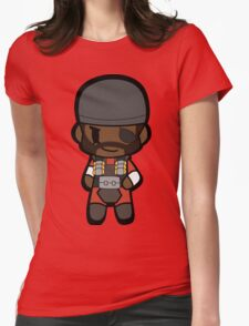 Chibi Demoman Womens Fitted T-Shirt
