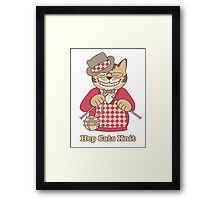 Hep Cats Knit Framed Print