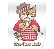 Hep Cats Knit Poster