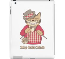 Hep Cats Knit iPad Case/Skin