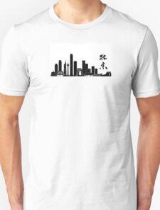Beijing's Skyline Unisex T-Shirt