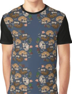Book Cats Graphic T-Shirt