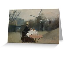 Ramon Casas - Plein Air  Greeting Card