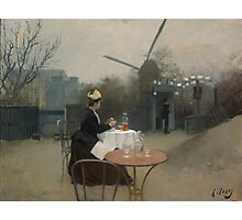 Ramon Casas - Plein Air  Photographic Print