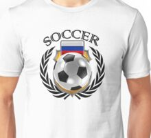 Russia Soccer 2016 Fan Gear Unisex T-Shirt