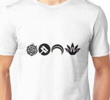 Team RNJR (Ranger) Silhouette 1 - RWBY Unisex T-Shirt