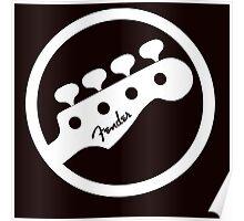 Bass guitar Fender Poster