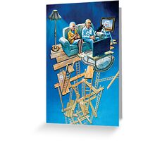 Suspension of disbelief Greeting Card