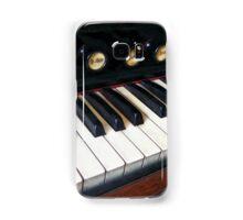 Organ Keyboard Closeup Samsung Galaxy Case/Skin