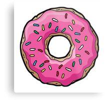 Simpsons Donut Metal Print