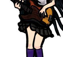 Mio Akiyama with bass / K-ON Sticker