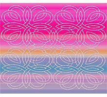 Fashion pattern unique style colorful Photographic Print