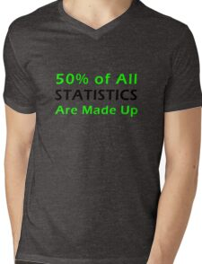 Statistics Made Up Mens V-Neck T-Shirt