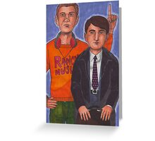 Mark & Jeremy Greeting Card