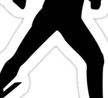 Cross country skiing Sticker
