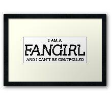 Divergent - Fangirl Framed Print