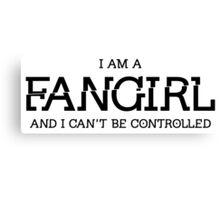 Divergent - Fangirl Canvas Print