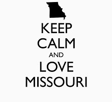 KEEP CALM and LOVE MISSOURI Unisex T-Shirt