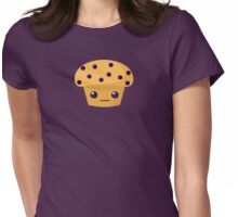 Blueberry Muffin Womens Fitted T-Shirt