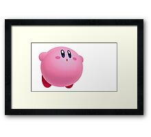 Kirby Design Framed Print