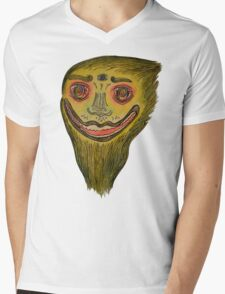 Face of nature Mens V-Neck T-Shirt
