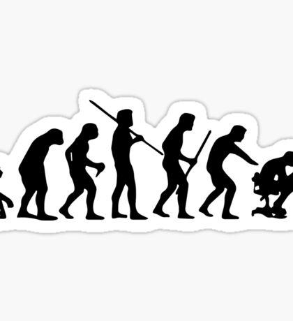 Computer Evolution Sticker