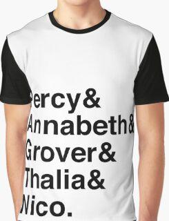 Percy & Annabeth & Grover & Thalia & Nico. (Percy Jackson) Graphic T-Shirt