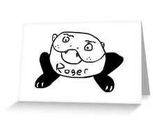 Roger Greeting Card