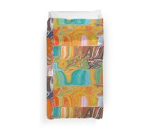 Happy Layers Abstract Duvet Cover