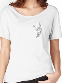 small devil horns Women's Relaxed Fit T-Shirt