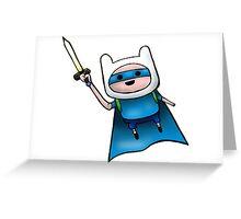 Superhero Guy  Greeting Card