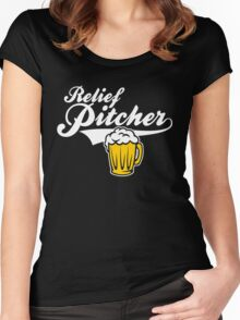 Beer - Relief Pitcher Women's Fitted Scoop T-Shirt