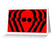 Màscares 2 Greeting Card