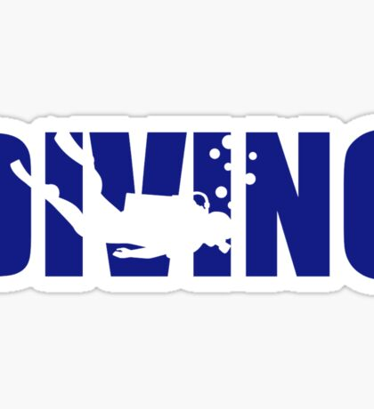 Diving Sticker