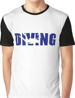 Diving Graphic T-Shirt
