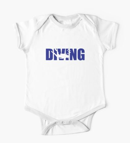 Diving One Piece - Short Sleeve