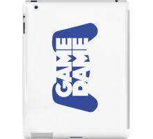 Game Dame - Blue iPad Case/Skin