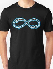 YOU & ME TILL INFINITY Unisex T-Shirt