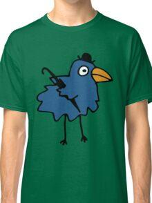 Business Bird - Blue Classic T-Shirt