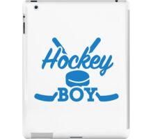 Hockey boy iPad Case/Skin
