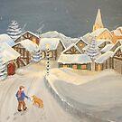 Winter Stroll by L.W. Turek
