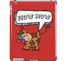 brown cow iPad Case/Skin