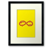 YOU & ME TILL INFINITY Framed Print