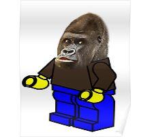 ape legoman Poster
