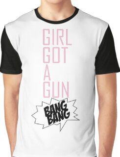 TOKIO HOTEL - GIRL GOT A GUN Graphic T-Shirt
